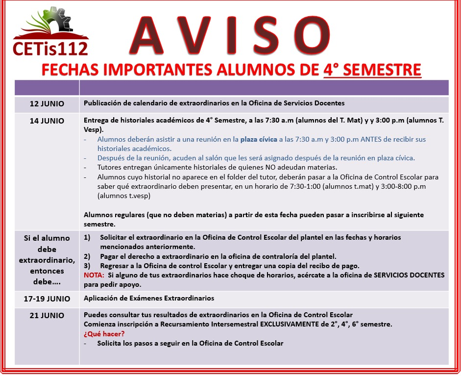 http://www.cetis112.edu.mx/wp-content/uploads/2016/08/Fechas-Importantes-4to-Semestre.jpeg